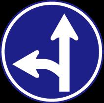 道路遵行方向