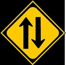 二方向交通